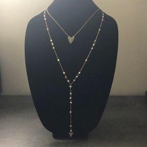 Panacea double layer y-necklace